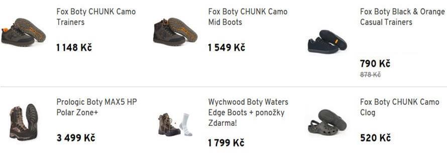 rybářská obuv-holínky