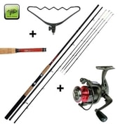 Giants Fishing Prut LXR Feeder 12ft 50 -100g + feederová hrazda + naviják zdarma!