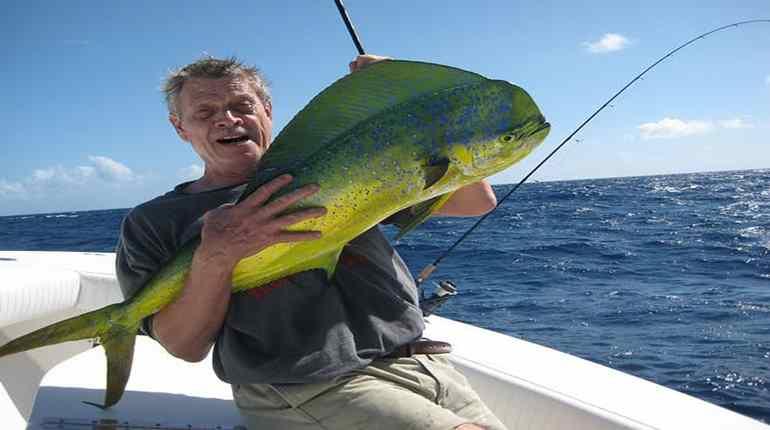 rybaření na moři