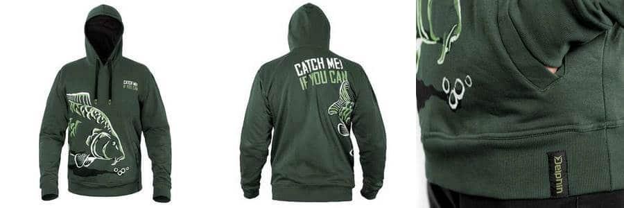 rybářská mikina Delphin catch me if you can