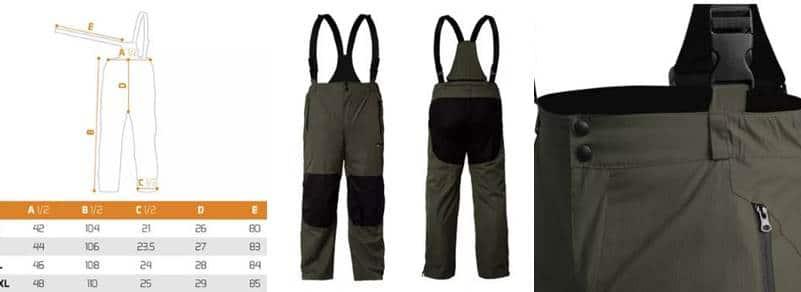 rybářské kalhoty Delphin Kalhoty Cruiser Lite