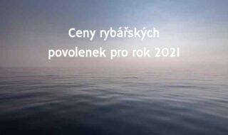 ceník rybářských povolenek 2020